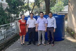 Hàng chục máy lọc nước sạch về với trẻ em vùng núi Thanh Hóa