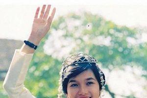 Mối tình 'sét đánh' hóa cuộc hôn nhân viên mãn của Hoa hậu đầu tiên Việt Nam