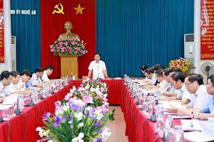 Ban Thường vụ Tỉnh ủy duyệt Đại hội đại biểu Đảng bộ thị xã Thái Hòa nhiệm kỳ 2020 - 2025