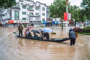 Mưa lũ tiếp tục gây nhiều thiệt hại nghiêm trọng tại Trung Quốc
