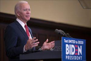 Các bang New Jersey và Delaware ủng hộ ông J.Biden