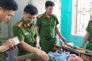 Triệt xóa nhiều điểm chuyên chế tạo súng, đạn ở vùng núi Thanh Hóa