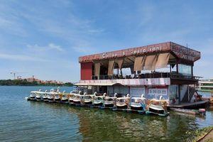 Nhếch nhác 'rác' du thuyền, nhà hàng nổi Hồ Tây