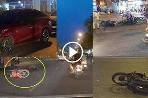 Đã bắt được tài xế xe Mazda tông hàng loạt xe máy chờ đèn đỏ ở Hà Nội