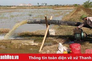 Nỗ lực cấp nước chống hạn, phục vụ sản xuất