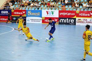Thái Sơn Nam vô địch lượt đi vòng chung kết Giải futsal HDBank VĐQG 2020