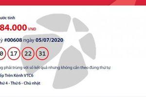 Kết quả xổ số Vietlott Mega 6/45 tối ngày 8/7/2020: Hơn 21 tỉ đồng 'gọi' tên ai?