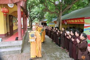 Thái Nguyên : Chư Tăng Ni chính thức vào mùa An cư