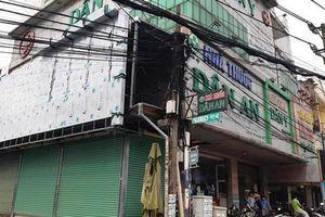 Một công nhân bị điện giật tử vong tại phòng khám Dân Y