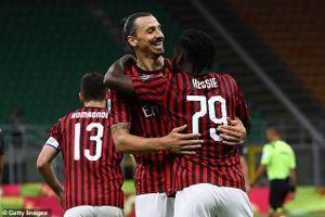 Ibrahimovic ghi bàn, AC Milan ngược dòng thần thánh trước Juventus
