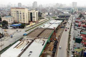 Cầu cạn Mai Dịch - Nam Thăng Long sẽ hoàn thành vào tháng 9-2020