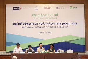 Chỉ số công khai ngân sách tỉnh: Hòa Bình vẫn 'đội sổ' sau nhiều năm ở top cuối