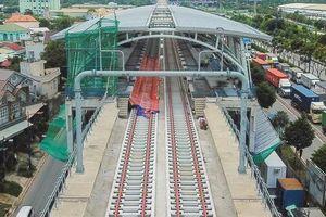 Hình dáng ga metro khu Công Nghệ Cao lộ diện sau 8 năm xây dựng
