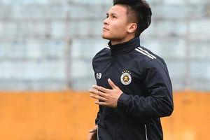 Quang Hải ốm sốt liên miên, Hà Nội FC vẫn phải mang đội hình 'dặt dẹo' đến Đà Nẵng