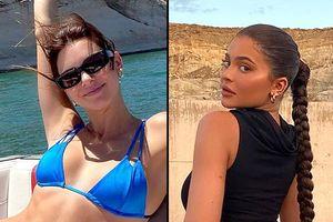 Bất chấp lệnh cách ly, Kylie và Kendall Jenner vẫn đi du lịch ở Utah với bạn bè