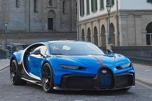 Siêu xe Bugatti Chiron Pur Sport 3,4 triệu USD xuất hiện tại Thụy Sĩ