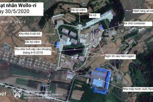 Ảnh vệ tinh hé lộ nhà máy bí ẩn bên sườn đồi ở Wollo-ri của Triều Tiên