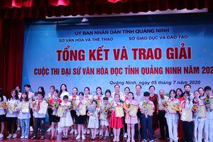 Quảng Ninh: Tổng kết trao giải 'Cuộc thi Đại sứ Văn hóa đọc 2020'