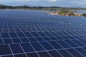 Điện mặt trời Phước Thái 1 hoàn thành phát điện 9/9 vùng pin