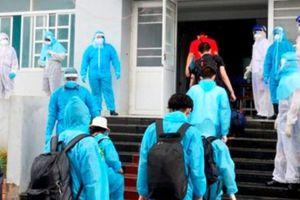Bạc Liêu tiếp nhận 210 công dân từ Nga về khu cách ly