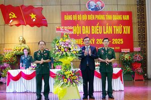 Đại hội Đảng bộ Bộ đội Biên phòng Quảng Nam
