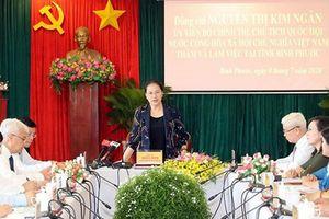 Bình Phước kiến nghị cho quy hoạch 70.000ha đất để phát triển