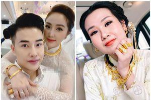 Giá vàng tăng mạnh: Ngắm trang sức hàng khủng của sao Việt
