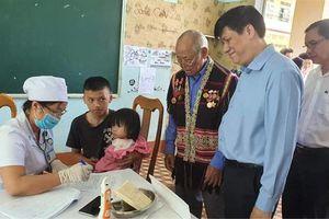 Triển khai chiến dịch phòng, chống dịch bạch hầu tại 4 tỉnh Tây Nguyên