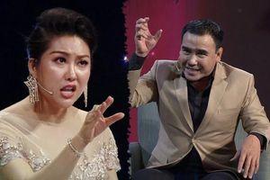 Phi Thanh Vân nói phụ nữ cam chịu là ngốc nghếch, MC Quyền Linh phản bác