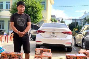 Công an tỉnh Kon Tum bắt gần 4 tạ pháo nổ