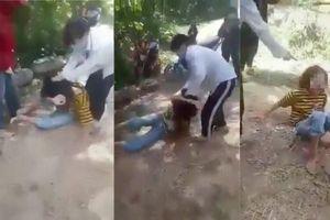 Xử phạt 2 nữ sinh Nghệ An đánh bạn học dã man trong rừng
