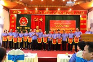 VKSND tỉnh Hòa Bình tổ chức thi 'Viết, công bố cáo trạng, trình bày luận tội và tranh luận'