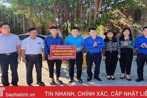 Tuổi trẻ Agribank Hà Tĩnh II tình nguyện vì cuộc sống cộng đồng