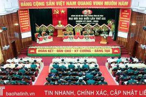 Khai mạc trọng thể Đại hội Đại biểu Đảng bộ Bộ đội Biên phòng Hà Tĩnh