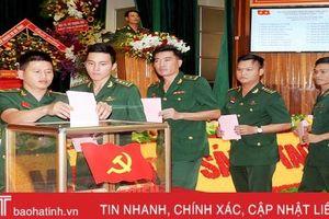 Ban Chấp hành Đảng bộ BĐBP Hà Tĩnh nhiệm kỳ 2020 - 2025 họp phiên thứ nhất bầu các chức danh