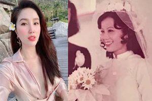 Nhìn ảnh mẹ Bảo Thy hơn 30 năm về trước mới hiểu sao nữ ca sĩ tự nhận không xinh bằng mẹ lúc trẻ