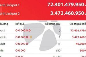 Kết quả xổ số Vietlott 9/7: Một người đã 'rinh' về hơn 3,4 tỷ đồng tối nay