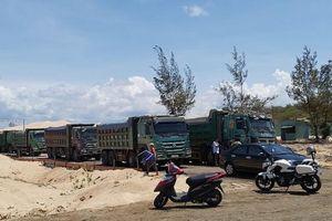Kiến nghị tỉnh Bà Rịa – Vũng Tàu xử phạt công ty Free Land vì khai thác cát trái phép