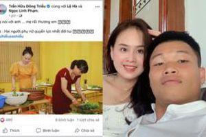Mẹ Trần Hữu Đông Triều thể hiện sự hài lòng về con dâu