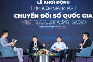 Khởi động cuộc thi tìm kiếm giải pháp chuyển đổi số Việt Nam Solutions