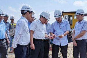 Không để chậm việc bàn giao mặt bằng làm ảnh hưởng đến tiến độ chung của dự án