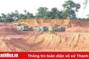 Huyện Hà Trung: Đóng cửa mỏ đất san lấp tại xã Hà Bình