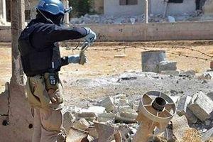 Nga phát hiện khủng bố làm 15 quả bom hóa học ở Syria