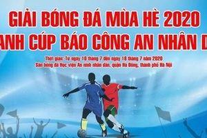 16 đội 'ngang cơ' tranh tài tại Giải bóng đá mùa hè 2020 tranh Cup Báo CAND