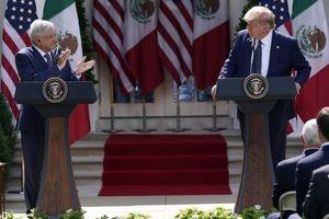 Mỹ-Mexico ra tuyên bố chung khẳng định tăng cường quan hệ song phương