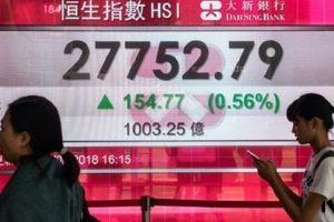 Các thị trường chứng khoán lớn ở châu Á 'đỏ sàn', riêng chứng khoán Trung Quốc vẫn xanh