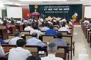 Hội đồng nhân dân thành phố Hồ Chí Minh xem xét nhiều vấn đề quan trọng