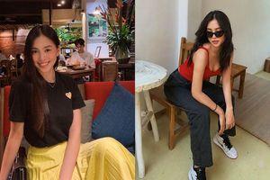 Học ngay Hoa hậu Tiểu Vy cách phối đồ nổi bần bật cho hội 'cuồng màu đen'