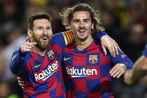 Griezmann và cú đánh gót thức tỉnh sự đáng sợ trong Barca