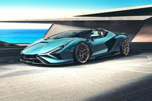 Sían Roadster ra mắt - siêu xe mui trần mạnh nhất của Lamborghini